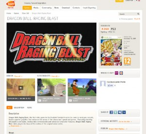 Dragonball Raging Blast