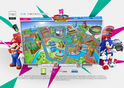 Mario and Sonic Olympics 2012