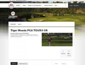 Tiger Woods 2008
