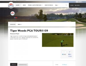 Tiger Woods 2009