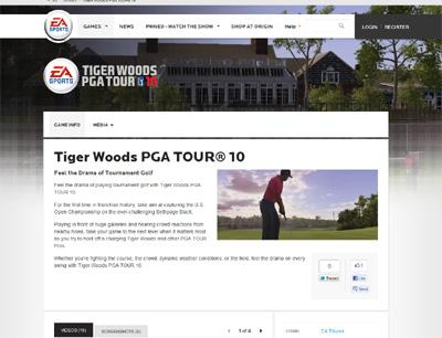 Tiger Woods 2010
