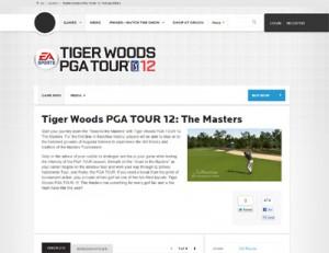Tiger Woods 2012