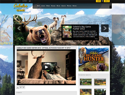 Cabelas Adventure Hunt
