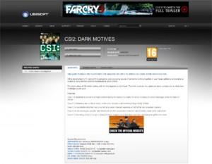 CSI 2 Dark Motives