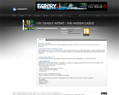 CSI The Hidden Cases