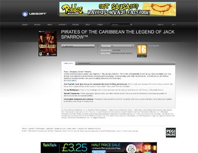 Legend of Jack Sparrow