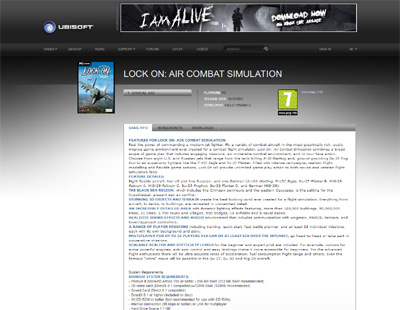 Lock On Air Combat Simulation