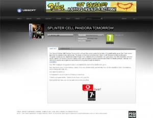 Splinter Cell Pandora Tommorow