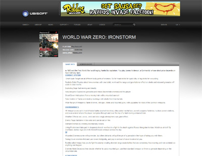 World War Zero Ironstorm